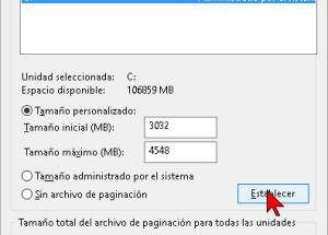 Cómo cambiar las opciones de memoria virtual en Windows 10