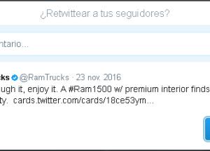 Cómo usar la función retuitear en Twitter