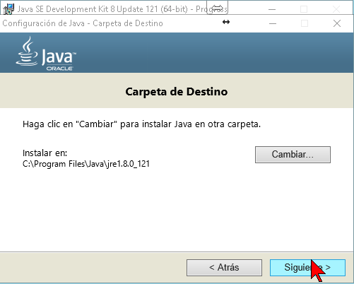 Instalando el Java Runtime Environment JRE en cómo descargar e instalar Java JDK en Windows 10