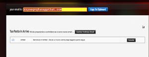 inbox servizio online airmail