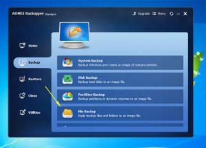 backup di file cartelle windows gratis