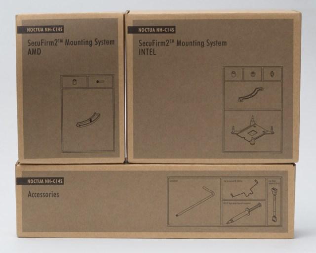 NH-C14S accesorios y kit de montaje