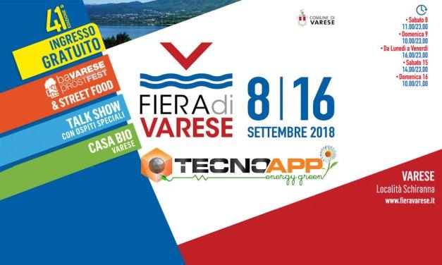 Tecnoapp Energy Green espone alla 41 edizione della Fiera di Varese