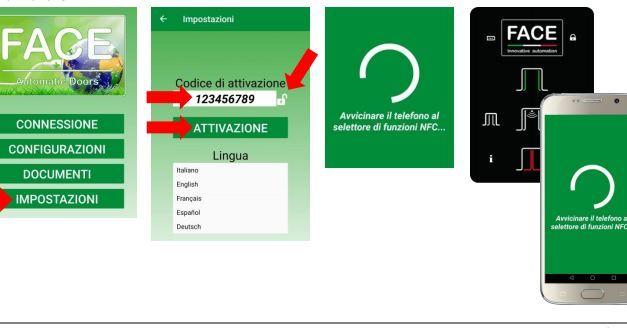 App di gestione porte automatiche