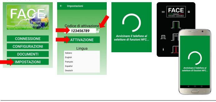 App gestione porte automatiche