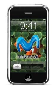 El iPhone con Movistar