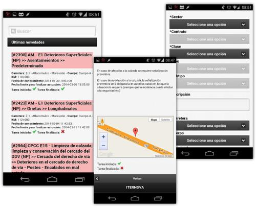 SmartRoads, versión móvil
