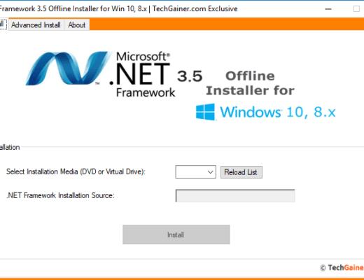 Instalador de Net Framework