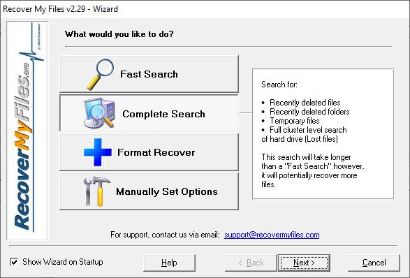 Recuperar datos de discos formateados Recover My Files