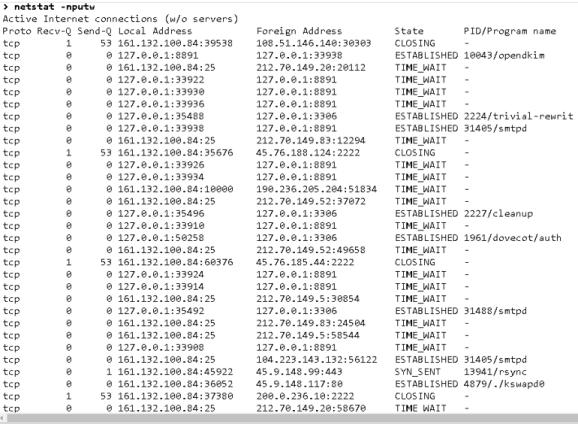 Hackeo de un servidor WEB  centos