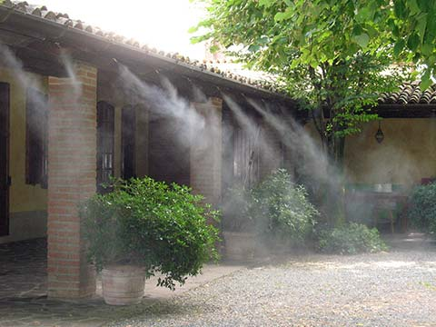 misting cooling fogging humidification systems tecnocooling
