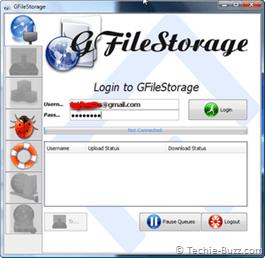 Use o Gmail como drive virtual