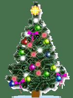 Coloque uma árvore de natal no Windows