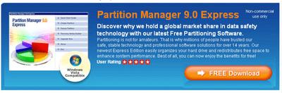 Paragon Partition Manager Express grátis