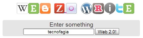 Converta texto em botões da web