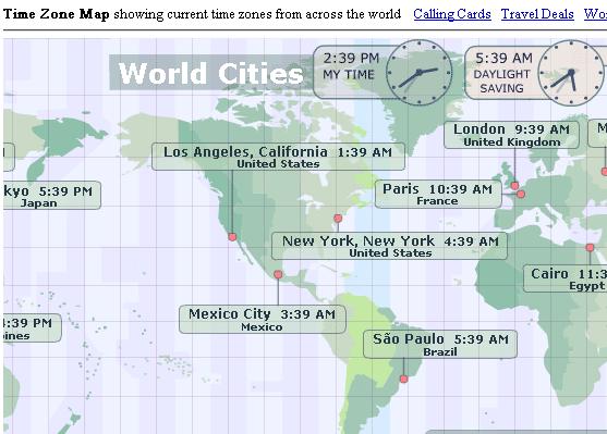 Fuso horário mundial