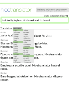 nicetranslator