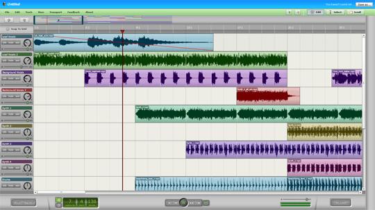 Editor de áudio online GRÁTIS!
