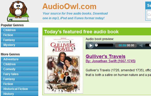 Audiolivros grátis para download