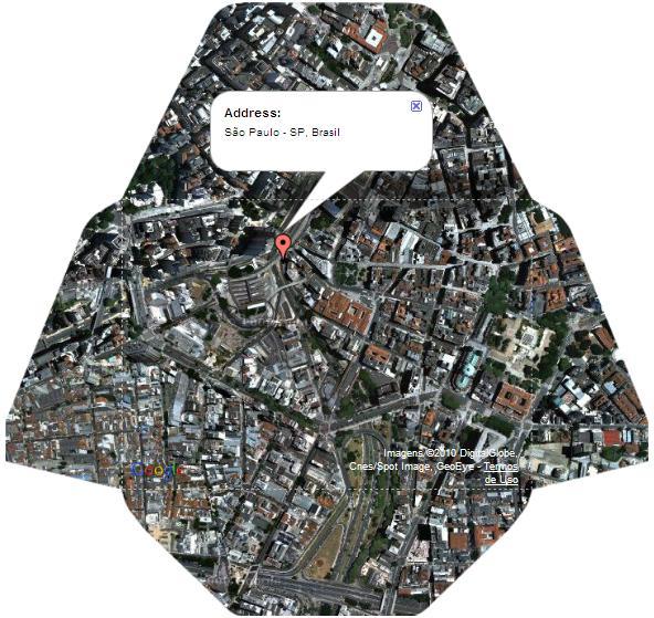 Faça um envelope com o mapa do seu endereço