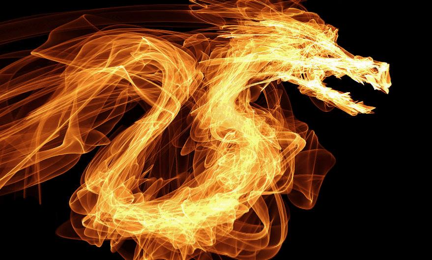 Crie imagens com efeito de fogo