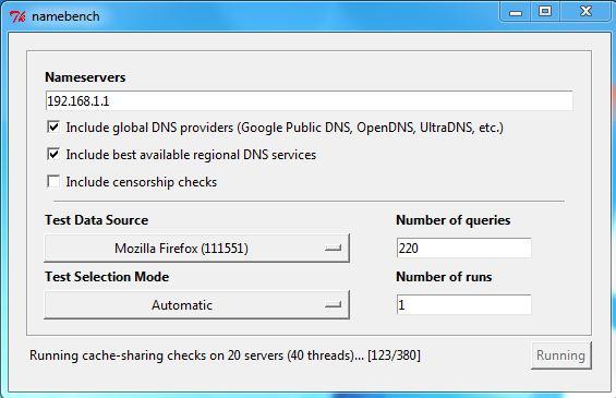 Encontre o servidor de DNS mais rápido