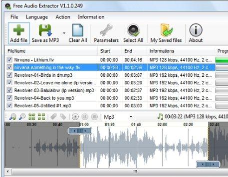 Como extrair o áudio dos vídeos