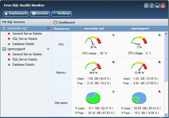 Ferramenta de monitoração para SQL Server