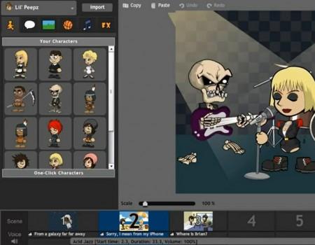 Crie animações online com o GoAnimate
