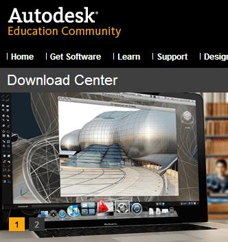 Download do AutoCAD, 3D Studio Max e Maya grátis para estudantes