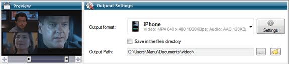 Conversor de vídeo para Android, iPhone e iPad