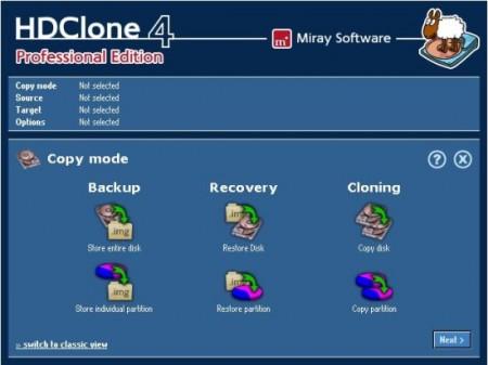 Programa grátis para clonar HD