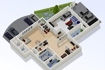 Site grátis para fazer a planta da casa a decoração online