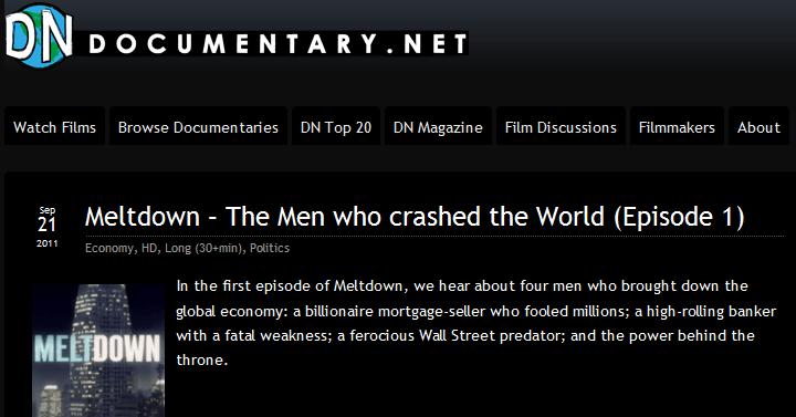 Documentários gratuitos para assistir na internet
