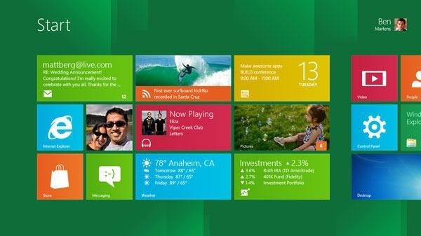 Download do Windows 8 Consumer Preview grátis