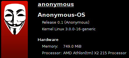 Anonymous lança sistema operacional próprio com ferramentas de invasão