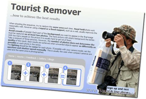 Remova os 'turistas' das suas fotos sem Photoshop