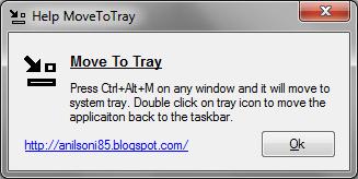 Como adicionar qualquer programa na bandeja do Windows