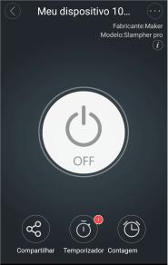 Aplicativo para controlar lâmpadas pelo wifi