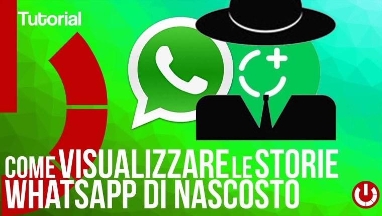 Come visualizzare le storie WhatsApp di nascosto