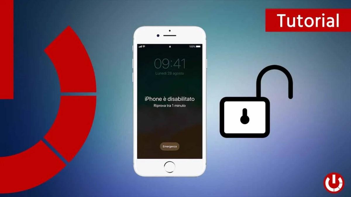 Come sbloccare iPhone bloccato da password