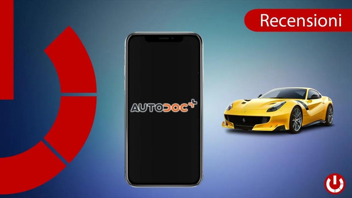 Acquistare ricambi per auto da app con Autodoc