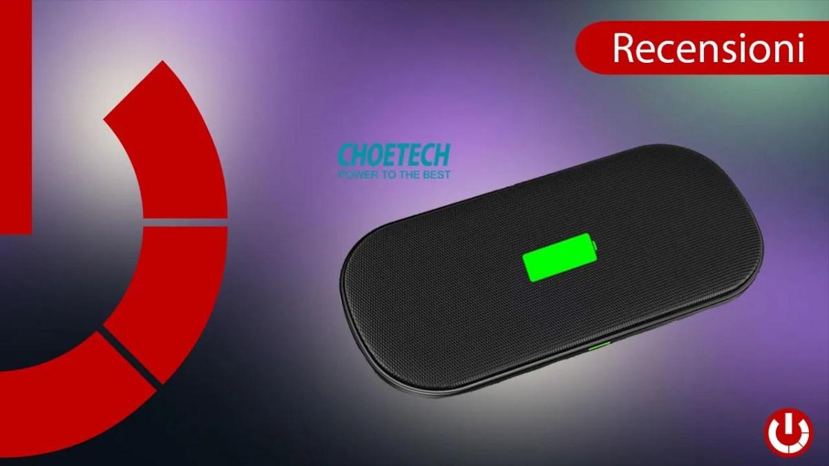 Recensione doppio caricatore wireless