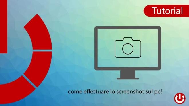 Come eseguire lo screenshot sul PC