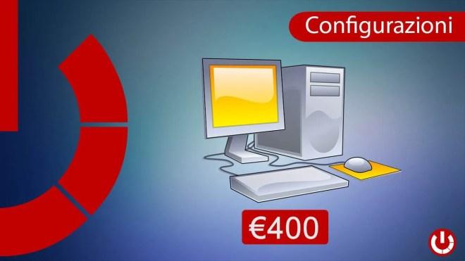 Configurazione Intel PC da ufficio a €400