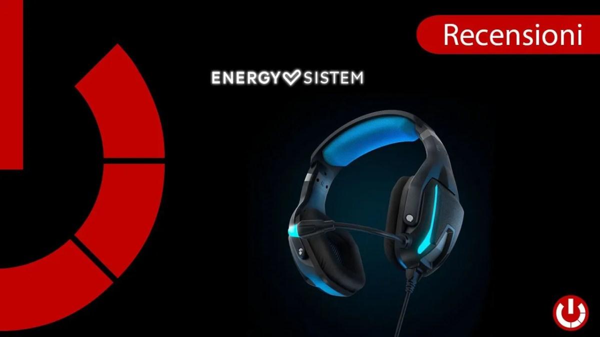 Recensione Cuffie Gaming Energy Sistem