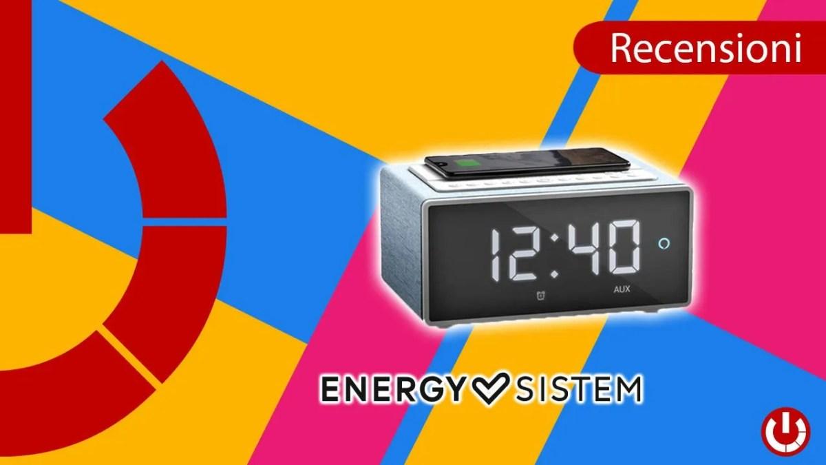 Recensione sveglia multifunzione Energy Sistem