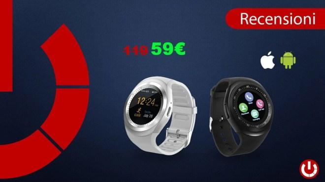 Recensione Smartwatch a soli 59€ - Pagamento alla consegna