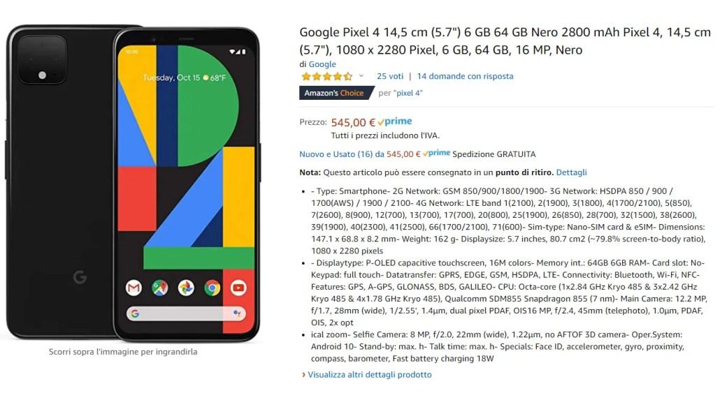Grandi Offerte su tutta la Gamma Pixel: Si parte da 299€