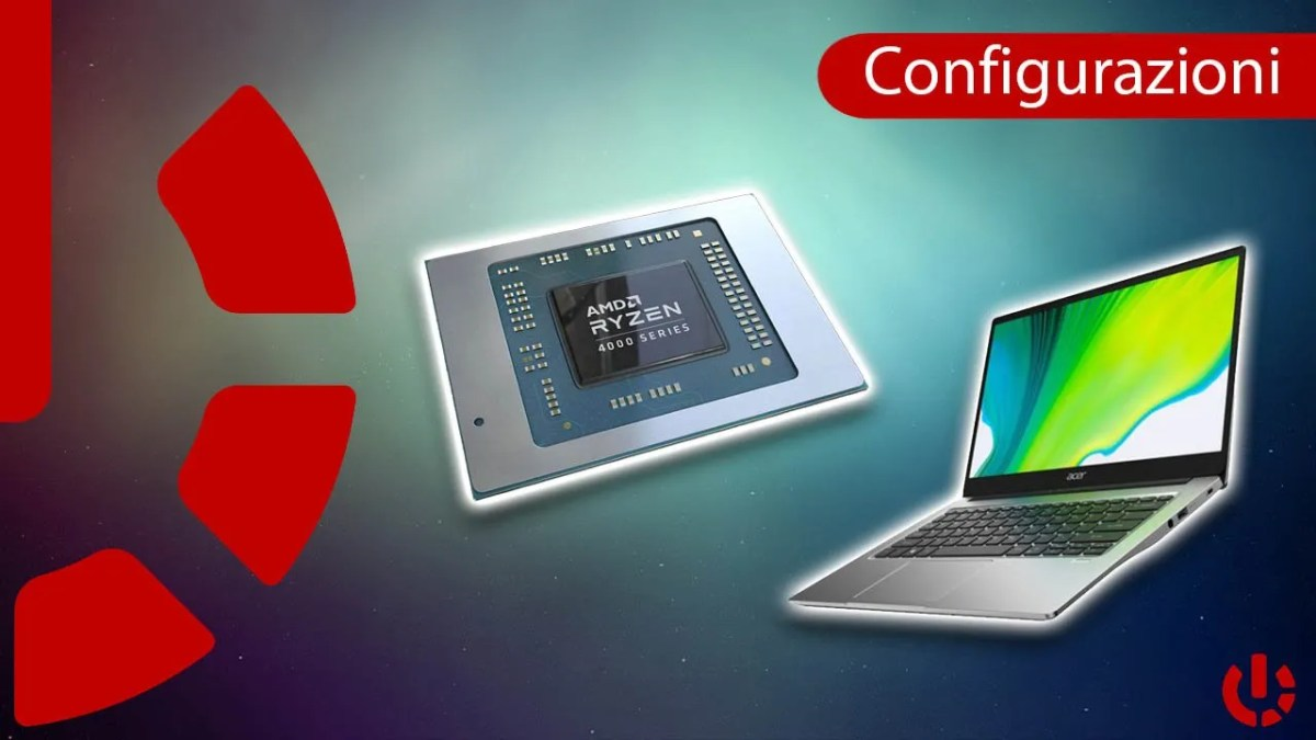 Tutti i Notebook AMD Ryzen 4000 attualmente acquistabili